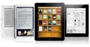 Diferentes modelos de lectores electrónicos